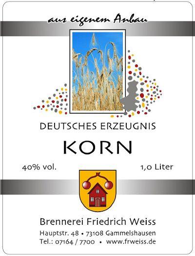 Korn Schnaps