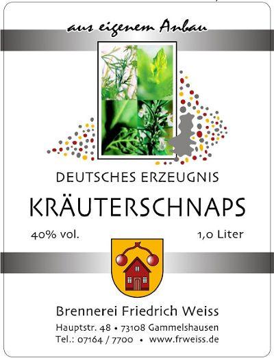 Kräuterschnaps