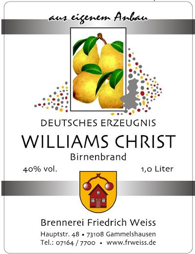 Williams Christ Brand